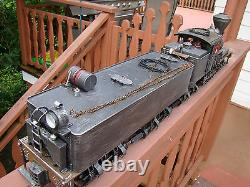 4 Truck Logging Shay Locomotive DCC, sound, lights, smoke custom weathered