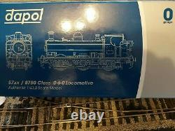 7s-007-003 Dapol 0 Gauge Class 57xx Pannier Gwr Green 9659 DCC 21 Pin Ready