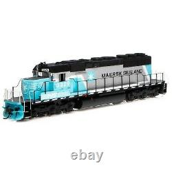 Athearn 71528 Ho Norfolk Southern Maersk Sd40-2 DC DCC Ready Rd#3329