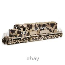 Athearn 71630 Ho Union Pacific Sd40-2 Desert Victory Dc, DCC & Sound Rd#3593