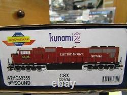 Athearn G69355 Sd70m Csx-ex Emdx Rd. No. 4696 Ho Tsunami 2 DCC & Sound