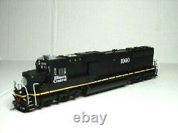 Athearn Genesis Ho Scale Sd70 Locomotive Dcc&sound Illinois Central G70606
