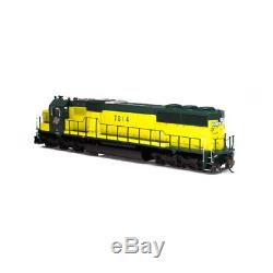 Athearrn ATH86947 SD50 withDCC & Sound C&NWithZito Yellow #7014 RTR Train HO Scale