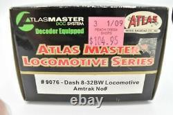 Atlas Master 9076 Amtrak Phase IV GE Dash 8-32BW (P32-8BWH) DCC HO Scale