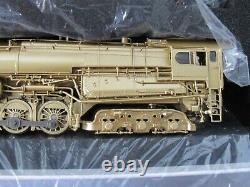 BLI Brass Hybrid PRR S2 Steam Turbine 6-8-6 Paragon3 DCC/Sound Varnished Brass