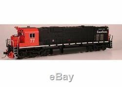 BOWSER 23624 HO Diesel Alco C636 QCM #79 Locomotive with LOKSOUND SOUND/DC/DCC