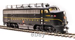 BROADWAY LIMITED 4860 HO F7A PRR 9673A DGLE 1 Stripe Paragon3 Sound/DC/DCC