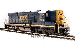 BROADWAY LIMITED 5782 HO SD7 CSX 9700 Boxcar scheme Paragon3 Sound/DC/DCC