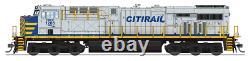 BROADWAY LIMITED 5865 HO SCALE GE ES44AC CREX 1214 Paragon3 Sound/DC/DCC/Smoke