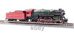 BROADWAY LIMITED 6232 N Hvy Pacific 4-6-2 Christmas #25 Paragon3 Sound/DC/DCC