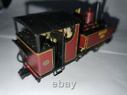 Bachmann 391-031DS Baldwin 009 Welsh Highland Railway lined maroon DCC Sound