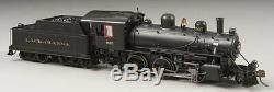 Bachmann 51813 HO Lackawanna Alco 2-6-0 Steam Locomotive withSound & DCC #565