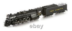 Bachmann 52403 HO Pere Marquette 2-8-4 Berkshire & Tender withSound & DCC #1225