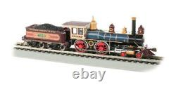 Bachmann 52707 HO Scale UP #119 with Coal Load DCC Sound Value American 4-4-0