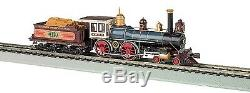 Bachmann HO 4-4-0 American DCC READY UP #119 withWood Load BAC51002