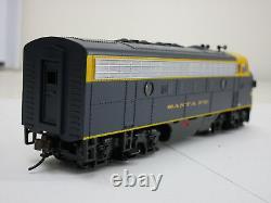 Bachmann HO Scale Train F7-A Diesel Loco DCC SoundTraxx Santa Fe #275