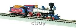Bachmann Industries 4-4-0 American Steam DCC Central Pacific #60 Jupiter Wood Lo