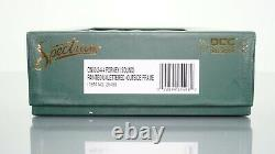 Bachmann Spectrum 2-4-4 Forney Unlettered DCC withSound ON30