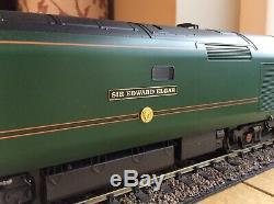 DCC SOUND O GAUGE HELJAN CLASS 50 50007 SIR EDWARD ELGAR In GWR LIVERY