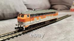 Diesellok BR 218 DB City Bahn mit Abgashutzen DCC/SX digital. Fleischmann 723602