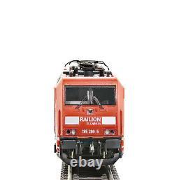 Fleischmann N 738872 DB AG Ellok BR 185.2 DCC DIGITAL SOUND Railion Logistics