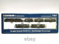 Fleischmann N 7897 ZugSet 80 Jahre DR der DR, DCC mit LokSound Digital