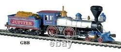 HO 187 Scale JUPITER 4-4-0 OLD TIME DCC Ready Locomotive BACHMANN New 51003