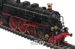 HO MTH Die-Cast Class 18.4 3 Rail AC Steam Engine withDCC, Sound, Smoke 80-3218-5
