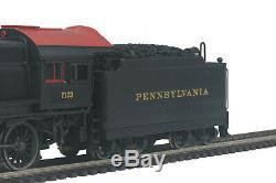 HO MTH Die-Cast Pennsylvania H-10 2-8-0 2 Rail DC withDCC, Sound, Smoke 80-3240-1