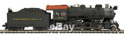 HO MTH Die-Cast Pennsylvania H-10 2-8-0 2 Rail DC withDCC, Sound, Smoke 80-3241-1