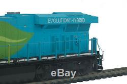 HO MTH G. E. Evolution ES-44 2 Rail DC withDCC, Sound, & Charging Lights 80-2350-1