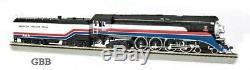 HO Scale AMERICAN FREEDOM TRAIN 4-8-4 DCC & SOUND GS4 Locomotive New 53103