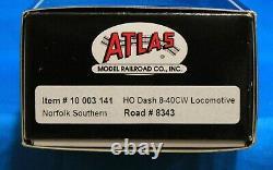 HO Scale ATLAS MASTER GOLD 10 003 141 NORFOLK SOUTHERN Dash 8-40CW DCC & SOUND