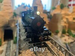 HO Scale Southern Green Steam Locomotive 4-6-0 Baldwin 52 Dr DCC with Sound NEW