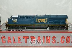 HO scale ScaleTrains CSX Transportation RR GE GEVO ET44AC locomotive DCC SOUND