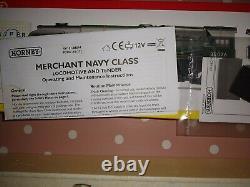 Hornby R2967 BR 4-6-2 Merchant Navy Class'Lamport & Holt Line' DCC Ready Unused