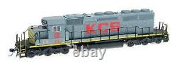 Intermountain HO-Scale EMD SD40-2 Diesel Kansas City Southern/KCS DCC/Sound