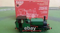 Ixion O gauge Hudswell Clarke 0-6-0 Standard Contractor's Tank loco, DCC Sound