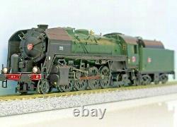 JOUEF HJ2277 141 R 1155 Verde/nero, ruote Box Pok alimentazione olio DCC SOUND