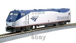 Kato 37-6111-ls Ho Amtrak P-42 Phase V Late Rd#203 Kobo Esu Loksound & DCC