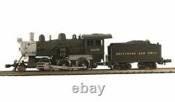 MODEL POWER 876021 N Scale 2-6-0 Mogul Baltimore & Ohio 2441 DCC / SOUND
