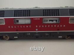 Märklin Diesellokomotive Digital V 200.052 purpurrot 37806 mfx+ DCC Sound OVP