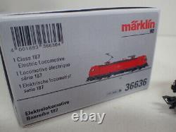 Märklin H0 36636 E- Lok 187 131-8 TRAXX Digital mfx DCC Sound OVP