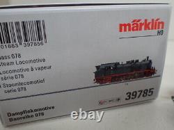Märklin H0 39785 BR 78 DB Dampflokomotiv T18 1969 OVP mfx Sound DCC