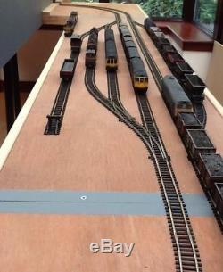 Model Railway layout, 11 x 4 ft 4 sections Half Fully Scenic DC or DCC, OO gauge