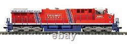 Mth 80-2415-1 Ho Donald J. Trump Es44ac Dc, Dcc, Dcs & Sound & Charging Lights