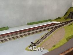 OO gauge Model Railway Layout Two Sections (4 1/2ft x 17.5) DC or DCC Stanton