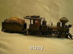 On30 -Logging Steam Locomotive DCC onboard- custom weathered, painted- lot B#