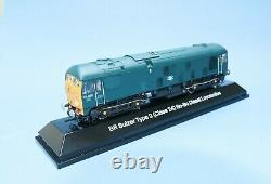 Rail Exclusive Class 24 Loco in BR Blue with DCC Sound in OO and EM Gauge NEW