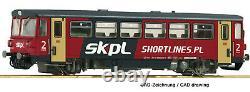 Roco 70385 Dieseltriebwagen 810 054-7 der SKPL, DCC DIGITAL SOUND, Tomek selte